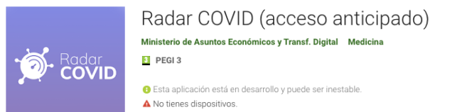 Apps Covid – 19